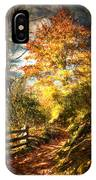 The Lighted Path IPhone Case