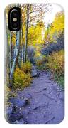 A Walk In The Woods IPhone Case by Kate Avery