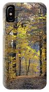 A Walk In The Woods IPhone Case