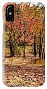 A Walk Through Autumn  IPhone Case