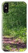 A Walk Through The Bluebells IPhone Case