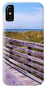 A Walk To The Beach IPhone Case
