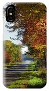 A Warm Fall Day IPhone Case