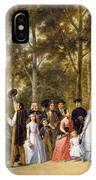 A Wedding At The Coeur Volant IPhone Case