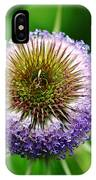 A Wild And Prickly Teasel IPhone Case