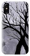 A Winter Night Silhouette IPhone Case