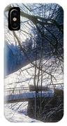 A Winter Walk In The Black Forest IPhone Case