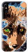 A Wolf Staring IPhone Case