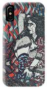 A Woman Between Prints IPhone Case