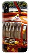 A Woodie At The Beach IPhone Case