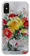 A Yellow Rose IPhone X Case