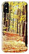 A Yellow Wood IPhone Case