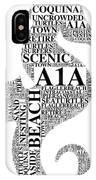A1A IPhone Case