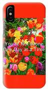 Aa One Day At A Time IPhone Case