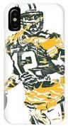 Aaron Rodgers Green Bay Packers Pixel Art 15 IPhone Case