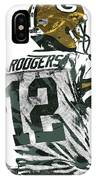Aaron Rodgers Green Bay Packers Pixel Art 5 IPhone Case