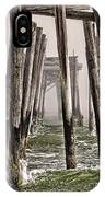 Abandon Pier Thru The Fog IPhone X Case