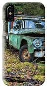 Abandoned Alaskan Logging Truck IPhone Case