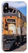Abandoned Bessemer And Lake Erie Trains Schellville California IPhone Case