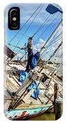 Abandoned Boat - Houston, Tx IPhone Case