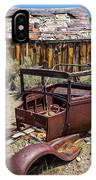 Abandoned Cars, Bodie Ghost Town IPhone Case