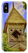 Abandoned Church Steeple IPhone Case