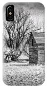 Abandoned Farm House IPhone Case