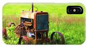 Abandoned Farm Tractor IPhone Case
