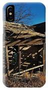 Abandoned Farmhouse In Kansas IPhone Case