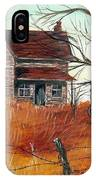 Abandoned Farmhouse IPhone Case