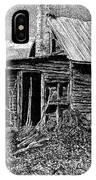 Abandoned Farmhouse IPhone Case