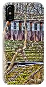 Abandoned House-don Robinson State Park-enhanced IPhone Case