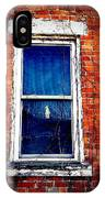 Abandoned House Window With Vines IPhone Case