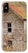 Abandoned House With Colorful Roof IPhone Case