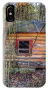 Abandoned Log Cabin IPhone Case