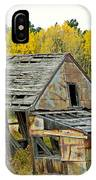 Abandoned Mine In Autumn IPhone Case