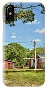 Abandoned Spring Farm IPhone Case