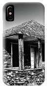 Abandoned Stone House IPhone Case