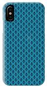 Abby Damask In Black Pattern 18-p0113 IPhone Case