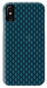 Abby Damask With A Black Background 18-p0113 IPhone Case