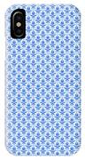 Abby Damask With A White Background 18-p0113 IPhone Case