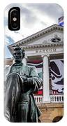 Abe On Bascom Hill IPhone Case