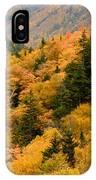 Ablaze With Autumn Glory IPhone Case