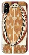 Aboriginal Bark Painting  IPhone Case