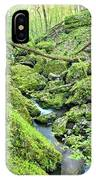 Above Moine Creek 2 IPhone Case