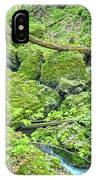 Above Moine Creek IPhone Case