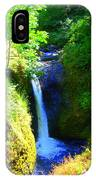 Above Onionta Falls IPhone Case