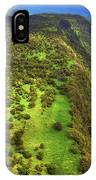 Above The Valleys IPhone Case