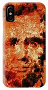 Abraham Lincoln 4d IPhone Case