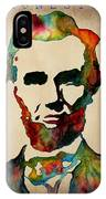 Abraham Lincoln Leader Qualities IPhone Case